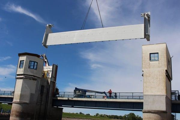 Stahlbrückenbau-Stahl-(dreh)brücken-